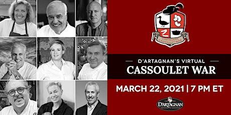 D'Artagnan 7th Annual Virtual Cassoulet War 2021 tickets