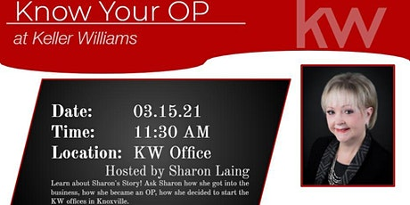 Know Your OP with Sharon Laing tickets