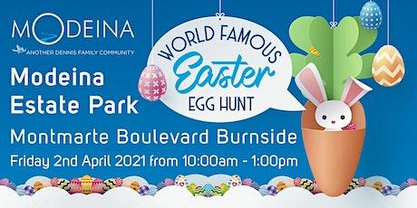 MODEINA WORLD FAMOUS Easter EGG HUNT tickets