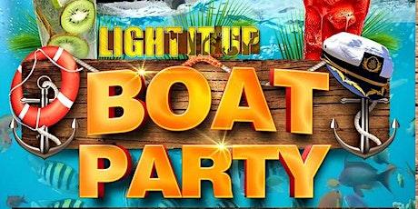 LIGHT IT UP BOAT PARTY  * Salsa * Reggaeton * Bachata * Merengu * Afrobeats tickets