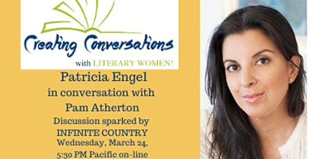 Creating Conversations with Literary Women Welcomes Patricia Engel tickets