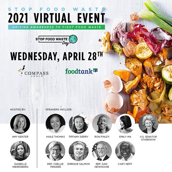 Stop Food Waste: Driving Awareness to Fight Food Waste. 2021 Virtual Event. image