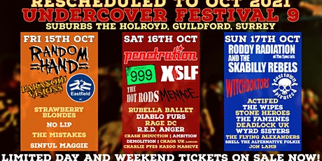 Undercover Festival 9 (Rescheduled) (Guildford Surrey) tickets