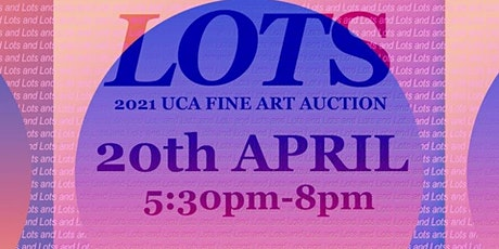 Lots: 2021 UCA Fine Art Auction tickets
