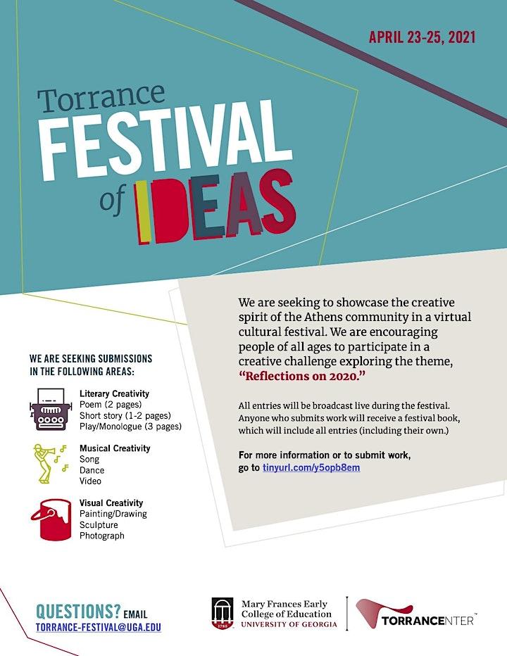 Torrance Festival of Ideas 2021 image