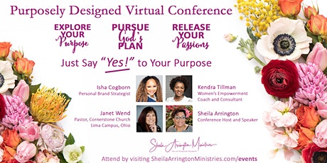 Purposely Designed Virtual Conference tickets
