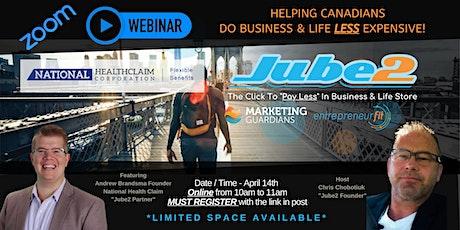 Ep 7 - Andrew Brandsma - Jube2's & partners that save your Biz & Life money tickets