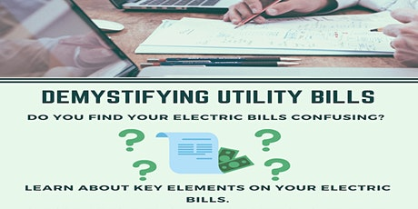 Demystifying Utility Bills biglietti