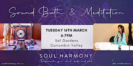 Sound Bath & Meditation in Currumbin Valley tickets