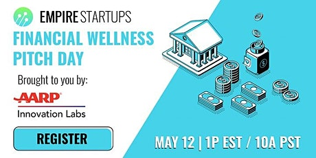 Financial Wellness Pitch Day brought to you by AARP tickets