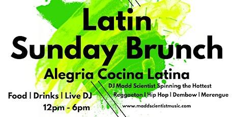 Latin Sunday Brunch @ Alegrias Cocina Latina in Long Beach tickets