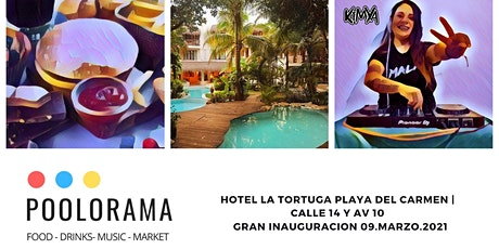 Gran Inauguración- Poolorama, Martes 9 de Marzo, 2:00pm boletos