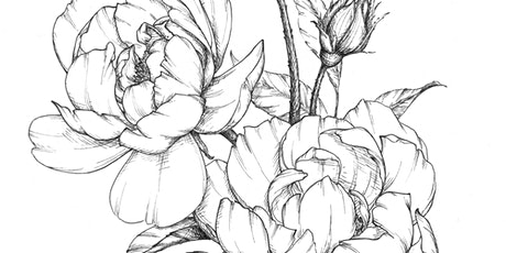 Floral Drawing Class tickets