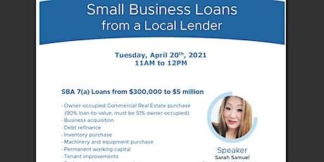 Small Business Loan Information Session tickets