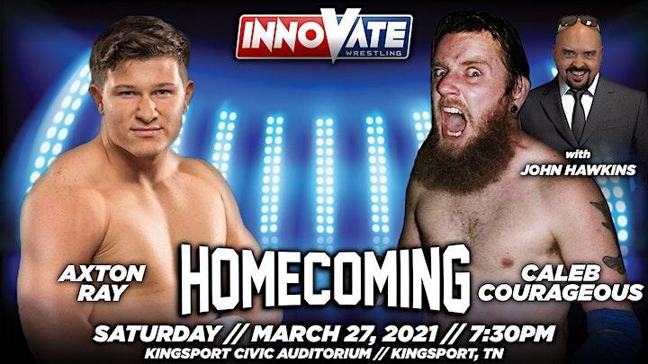 Innovate Wrestling Homecoming image