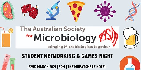 ASM Student Networking & Games Night tickets