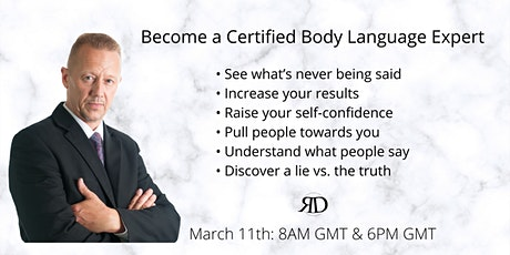 The 6 Powerful Secrets of Body Language Released tickets
