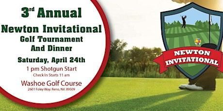 3rd Annual Newton Invitational Golf Tournament & Dinner tickets
