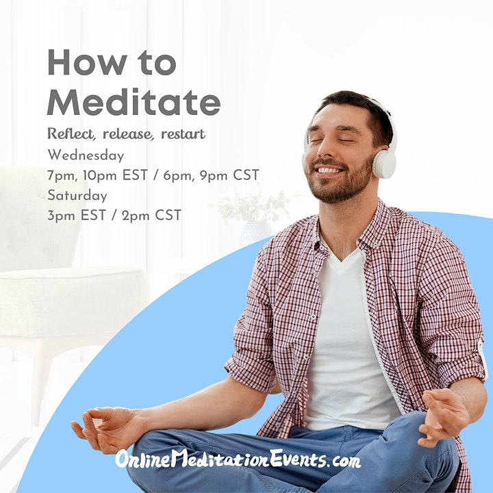 How to Meditate: Reflect, Release & Restart image