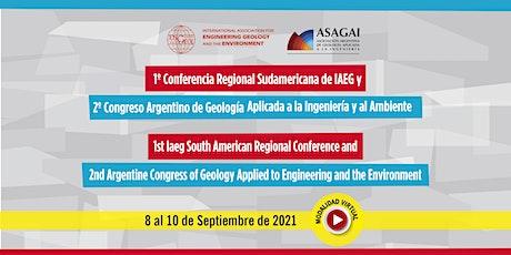 1° Conferencia Sudamericana de IAEG 2° Congreso Argentino de la Geologia entradas