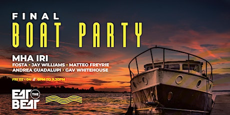 Eat The Beat : Final Boat Party tickets