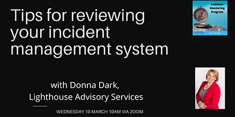 Tips for reviewing your incident management system tickets