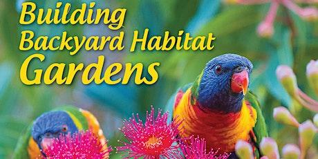Tips to design your native garden tickets