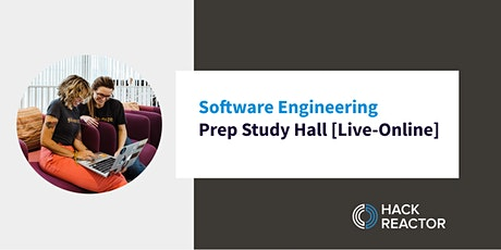 Software Engineering Prep Study Hall [Live-Online] tickets