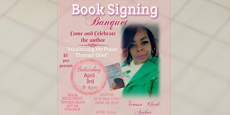 Book Signing Banquet tickets