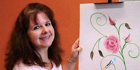 One Stroke Painting with Elizabeth Boles tickets