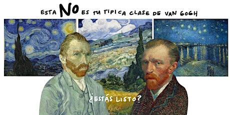 Masterclass de Vincent Van Gogh - Grupo 2 boletos