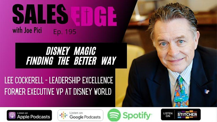 Relationship-Building Event with Former Disney Executive, Lee Cockerell image