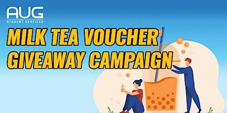 AUG Sydney x KingTea皇茶 - 领取免费奶茶券活动 | Milk Tea Voucher Giveaway Campaign tickets