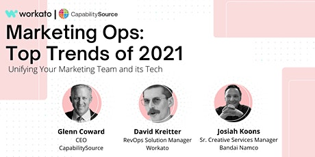 Marketing Ops: Top Trends of 2021,Unifying your Marketing Team and its Tech tickets