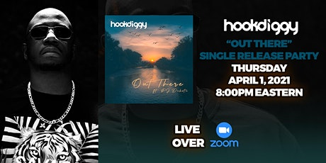 """Hookdiggy - Can You Hear Me """"Out There"""" Single Release Party tickets"""
