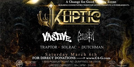 The Factory Project and Later Tonight Presents Kliptic tickets