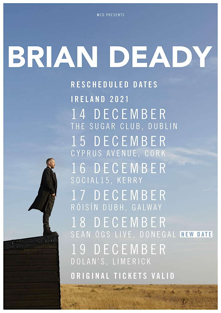 Brian Deady Sean Ogs Live, Donegal 18th Dec 2021 image