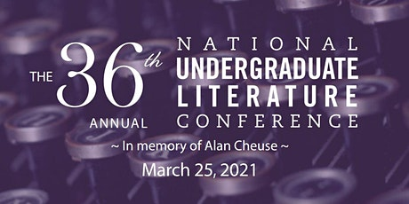 National Undergraduate Literature Conference, hosted by Weber State English tickets