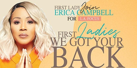 "First Ladies ""We Got Your Back"" Virtual Townhall Series Tickets"