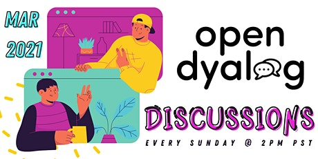 Open Community Discussions | Open Dyalog | MARCH | Zoom tickets