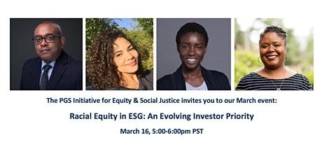 Racial Equity in ESG: An Evolving Investor Priority tickets