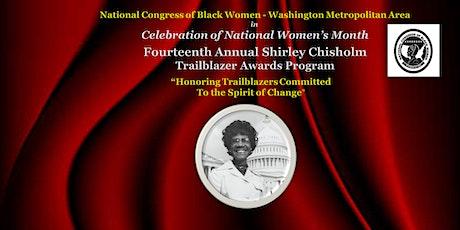 NCBW - Washington Metropolitan Area Shirley Chisholm Trailblazer Award tickets
