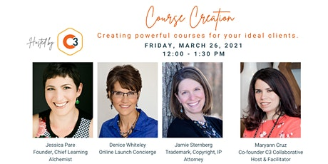 Course Creation: Creating powerful courses for your ideal clients. tickets