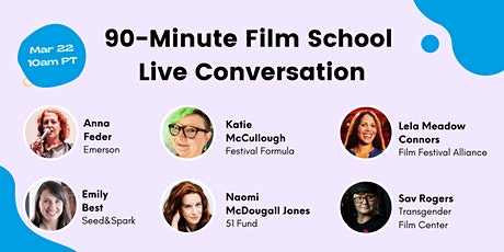 90-Minute Film School Live Conversation tickets
