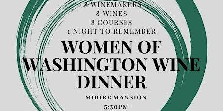 Women of Washington Wine Dinner 2021 tickets