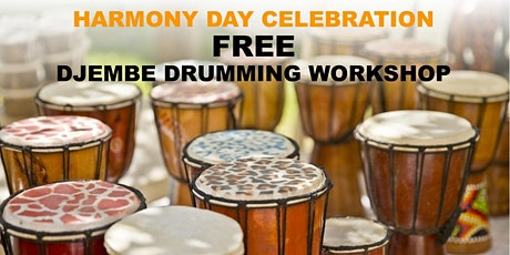 Djembe Drumming Workshop - Harmony Day Celebration tickets