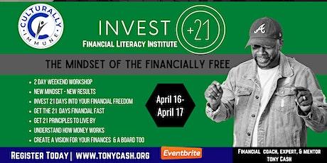 Invest 21- Financial Literacy Institute tickets
