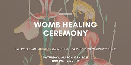 Sound + Reiki New Moon Womb Healing Ceremony for All Folks tickets