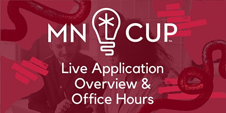 MN Cup Application Overviews - Live on Zoom tickets