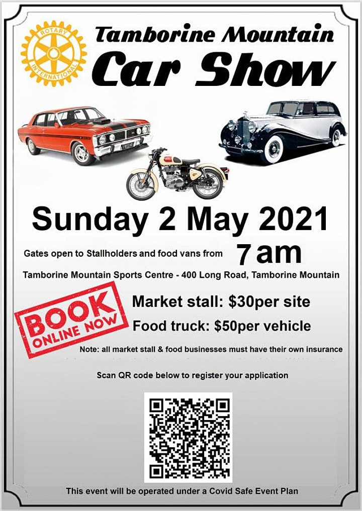Tamborine Mountain Rotary Car Show image